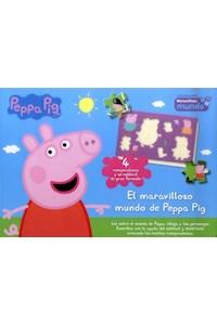 Papel El Maravilloso Mundo De Peppa Pig (Rompecabezas De Carton)