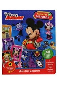 Papel Disney Junior - Historias Con Retratos