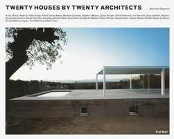 Papel TWENTY HOUSES BY TWENTY ARCHITECTS [INGLES]