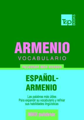 E-book Vocabulario Español-Armenio - 9000 Palabras Más Usadas