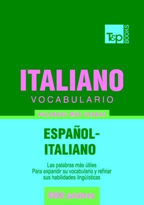 E-book Vocabulario Español-Italiano - 9000 Palabras Más Usadas