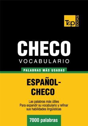 E-book Vocabulario Español-Checo - 7000 Palabras Más Usadas
