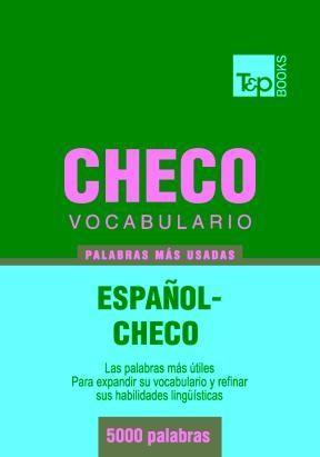 E-book Vocabulario Español-Checo - 5000 Palabras Más Usadas