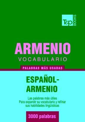 E-book Vocabulario Español-Armenio - 3000 Palabras Más Usadas