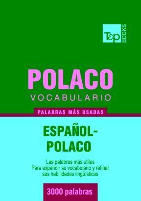 E-book Vocabulario Español-Polaco - 3000 Palabras Más Usadas
