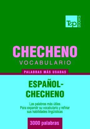 E-book Vocabulario Español-Checheno - 3000 Palabras Más Usadas