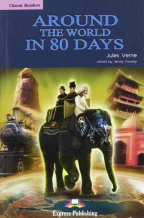Papel Around The World In 80 Days-Classic Readers