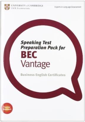 Papel Speaking Test Preparation Pack For Bec Vantage