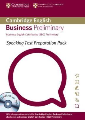 Papel Speaking Test Preparation Pack For Bec (Sale)