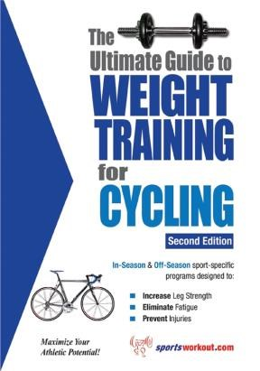 E-book The Ultimate Guide To Weight Training For Cycling