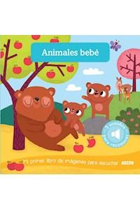 Papel Libro Sonoro: Animales Bebé