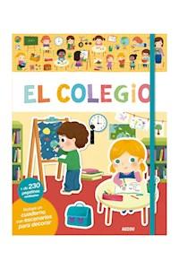 Papel Libros De Stickers: El Colegio