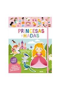 Papel Libros De Stickers: Princesas Y Hadas