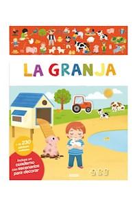 Papel Libros De Stickers: La Granja