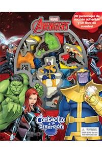 Papel Avengers Contacto A La Diversion