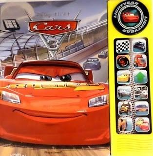 Libro Disney Cars 3 Con Sonido