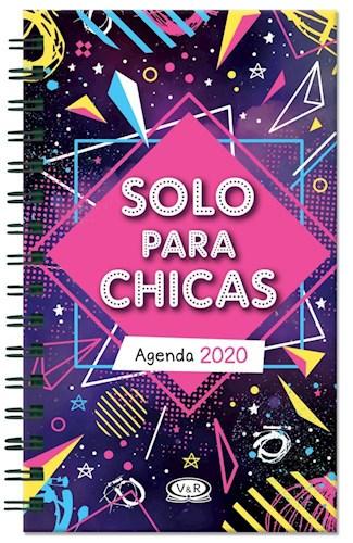 Libro Agenda 2020 Solo Para Chicas Espacial