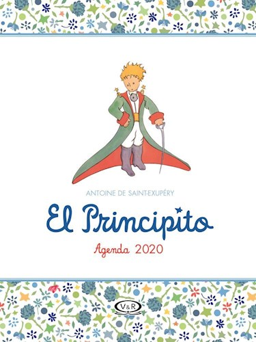 Libro Agenda 2020 El Principito Blanca