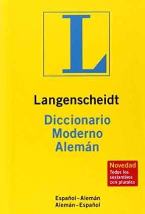 Papel Langenscheidt Diccionario Moderno Aleman