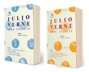 Libro Julio Verne,Estuche Obras Selectas -2 Tomos - Tinta Viva