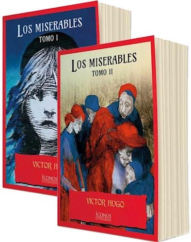 Estuche Los Miserables 2 Tomos - Iconos Literarios- por