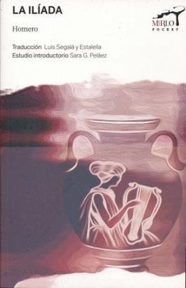 Libro La Iliada -Mirlo Pocket