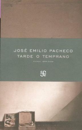 Papel TARDE O TEMPRANO- POEMAS 1958-2009