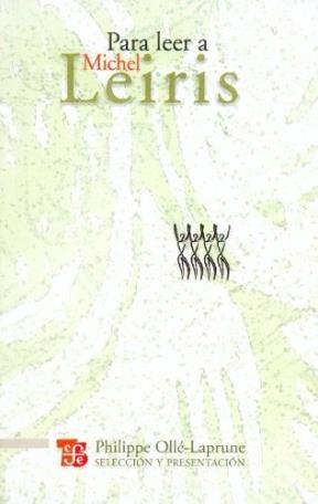 Papel PARA LEER A MICHEL LEIRIS
