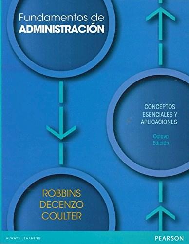 Papel Fundamentos De Administracion 8 Edicion