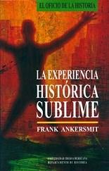 Papel LA EXERIENCIA HISTORICA SUBLIME