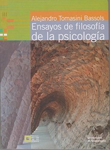 Papel ENSAYOS DE FILOSOFIA DE LA PSICOLOGIA