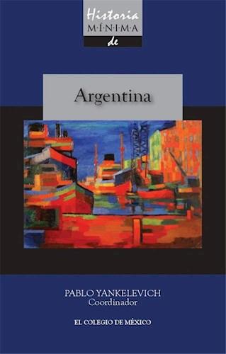 Papel Historia Mínima De Argentina
