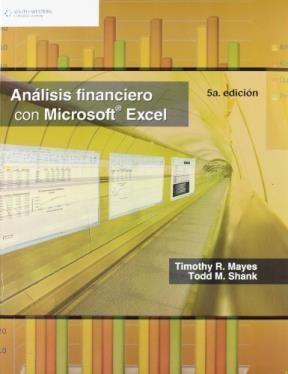 Papel Analisis Financiero Con Microsoft Excel 5 Edicion