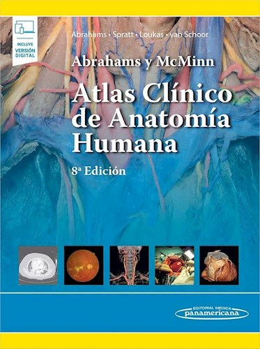 Papel Abrahams y McMinn. Atlas Clínico de Anatomía Humana Ed.8