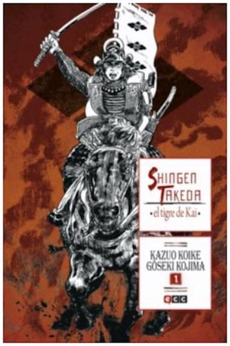 Shingen Takeda  El Tigre De Kai 1 Al 4 (Lote Completo)