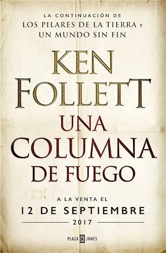 E-book Una Columna De Fuego (Saga Los Pilares De La Tierra 3)