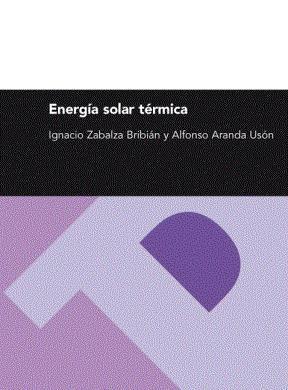 E-book Energía Solar Térmica (Serie Energias Renovables)