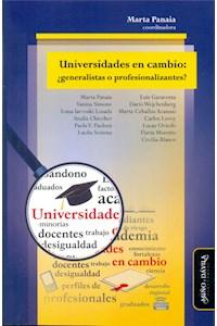 Papel Universidades En Cambio