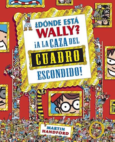 LIBRO DONDE ESTA WALLY LA CAZA DEL CUADRO
