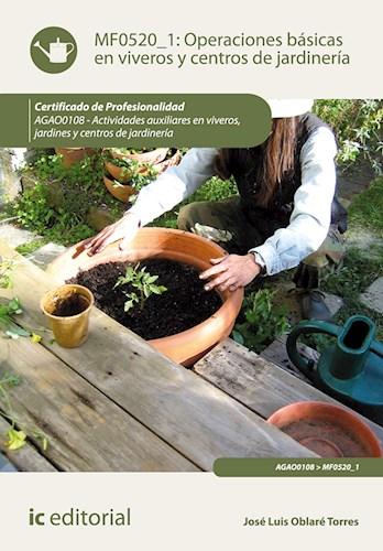 Papel Operaciones Básicas En Viveros Y Centros De Jardinería. Agao0108 - Actividades Auxiliares En Viveros