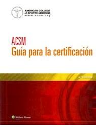 Papel Acsm Guia Para La Certificacion