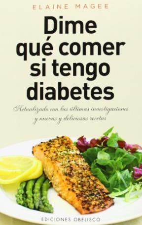 Libro Dime Que Comer Si Tengo Diabetes