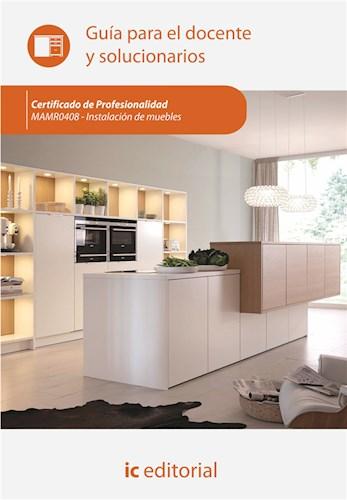 Papel Instalación De Muebles. Mamr0408 - Guía Para El Docente Y Solucionarios