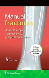 Papel Manual De Fracturas Ed.5