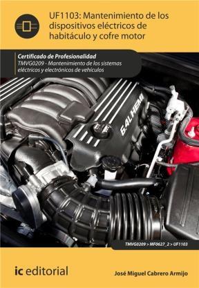 E-book Mantenimiento De Los Dispositivos Eléctricos De Habitáculo Y Cofre Motor