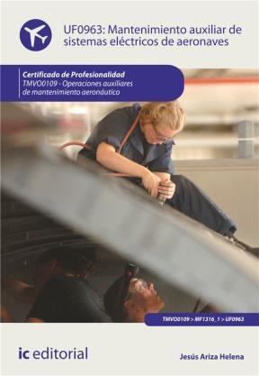 E-book Mantenimiento Auxiliar De Sistemas Eléctricos De Aeronaves