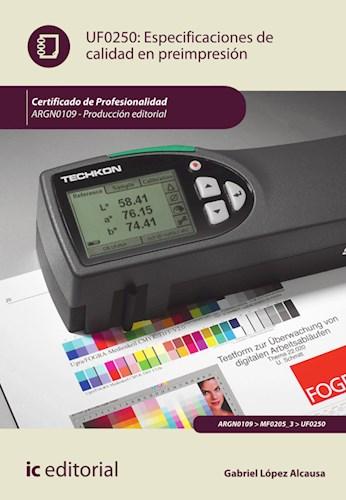 Papel Especificaciones De Calidad En Preimpresión. Argn0109 - Producción Editorial