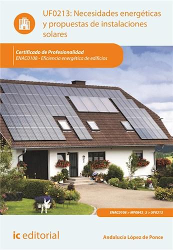 E-book Necesidades Energéticas Y Propuestas De Instalaciones Solares