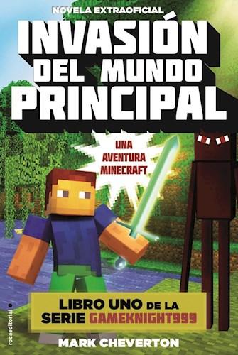 Papel Minecraft - Invasion Del Mundo Principal