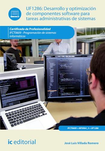 Papel Desarrollo Y Optimización De Componentes Software Para Tareas Administrativas De Sistemas. Ifct0609